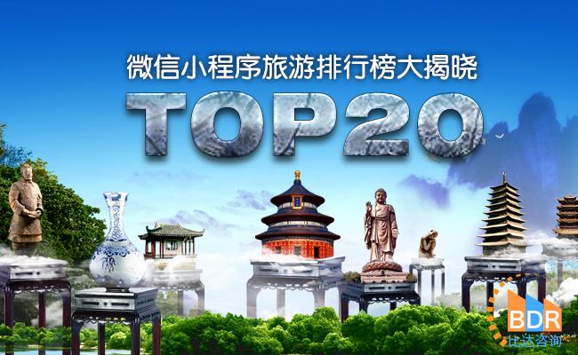 微信小程序旅游排行榜大揭晓