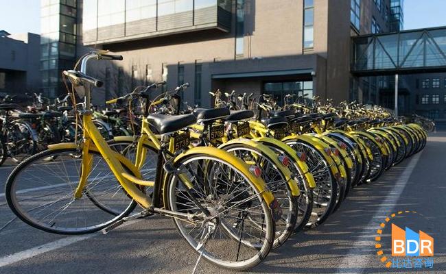中国共享单车行业报告发布:ofo市占率51.2% 居行业第一