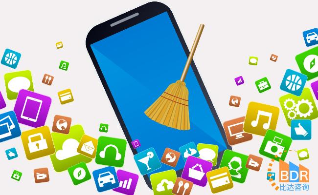 比达咨询:手机安全APP的清理垃圾功能最受用户青睐